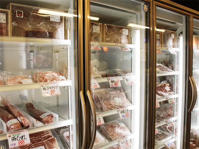 也販賣菜單上所有種類的肉類!如果是帶有廚房的住宿設施,也可以購買後自享料理快樂。