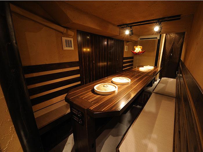 悠閒輕鬆的和室座位。