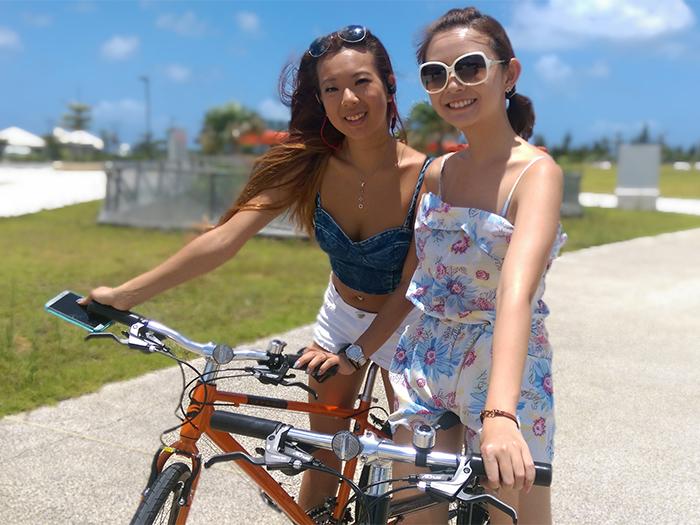 從酒店附近的漫遊,到繞沖遲繩一週,歡迎騎著自行車寫情享受沖繩之樂