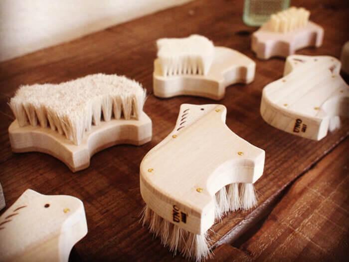 宇野刷毛Brush製作的動物圖案刷子