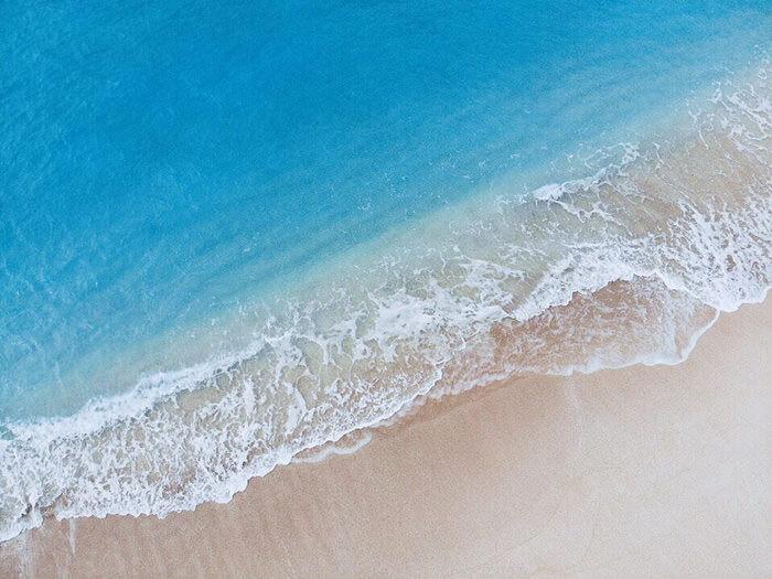 碧海白沙的美麗瀨底海灘離店家開車只需5分鐘