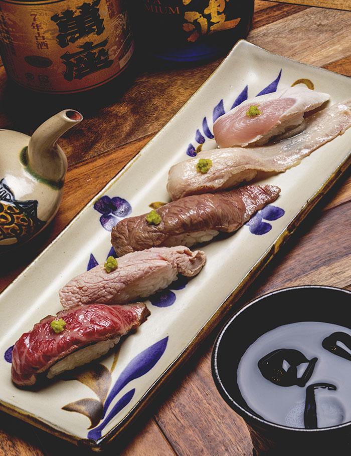 肉壽司綜合拼盤