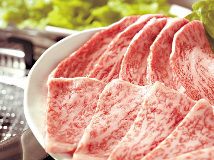 頂級牛里肌肉 3,024日圓・頂級牛五花肉 3,024日圓