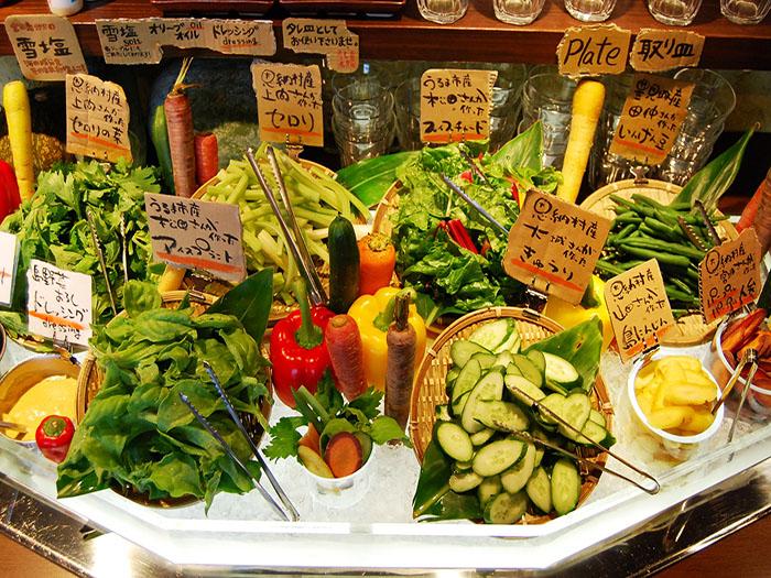 前菜是由蔬菜營養師嚴選的吃到飽沙拉吧!