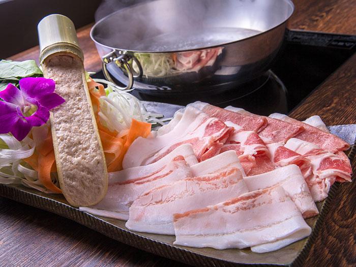 山原島Agu豬涮涮鍋