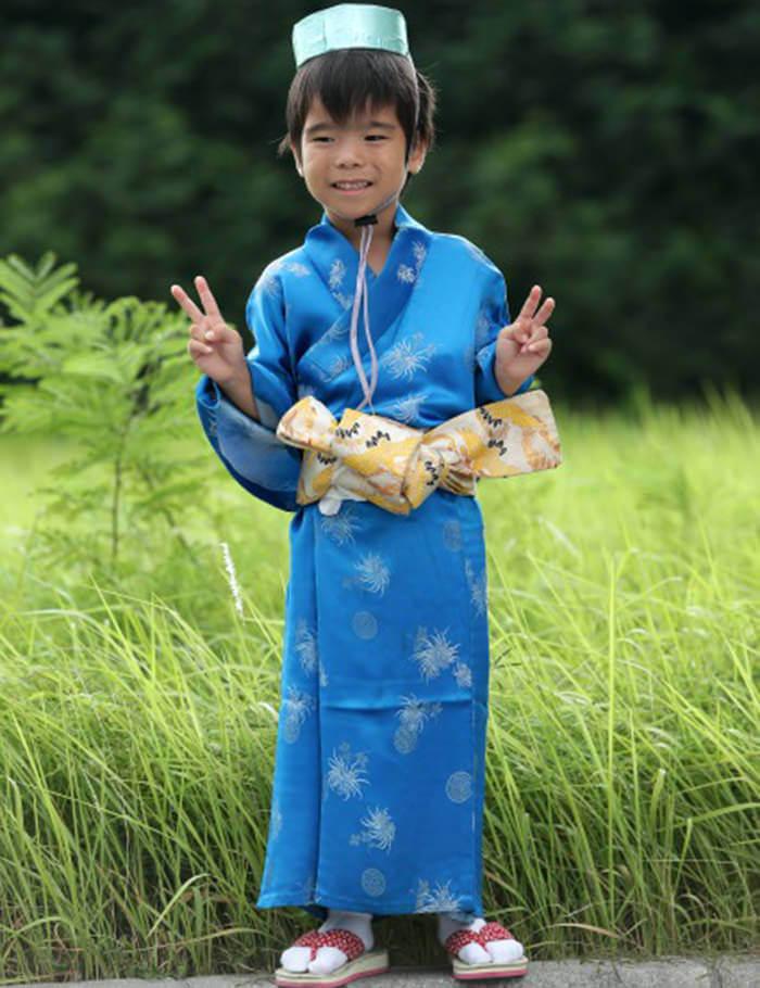 本店亦提供小朋友的浴衣和琉球服裝。非常適合在參與活動時穿著。