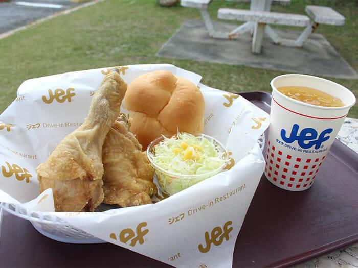 提供使用縣產嫩雞,當場現做的炸雞