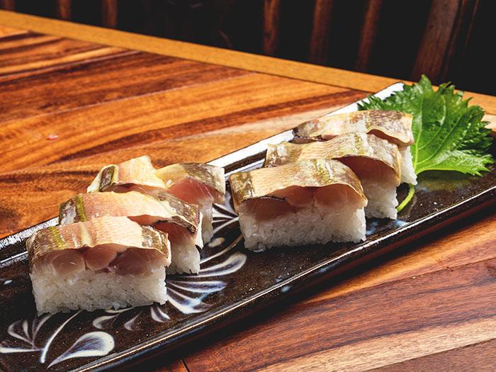 少見的沖繩縣魚GURUKUN握壽司