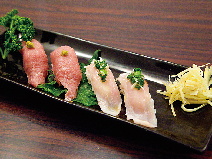 新鮮!豬握壽司