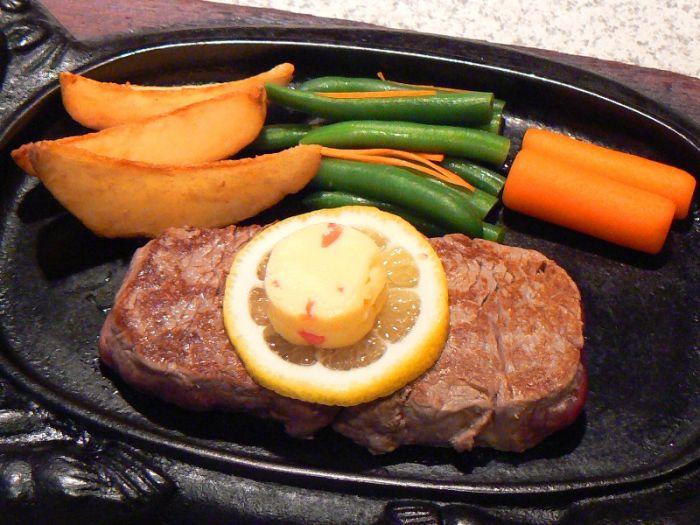 沒有肥肉,軟嫩的上等烤里脊