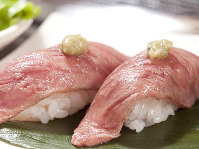 特選炙烤壽司 一貫410日圓