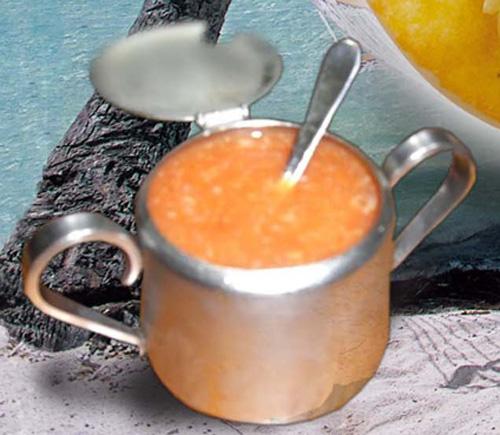 萨尔萨辣酱調味汁是這裡原創不變的味道。