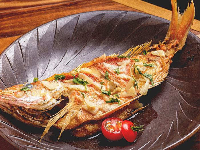 爽快的新鮮奶油燒魚