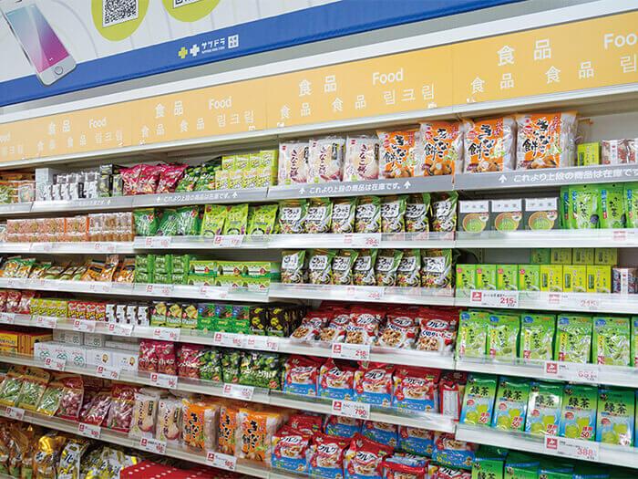 還有很多只有在北海道才能買到的藥妝以及食品等,不用特地飛到北海道也可以在這裡買到喔!