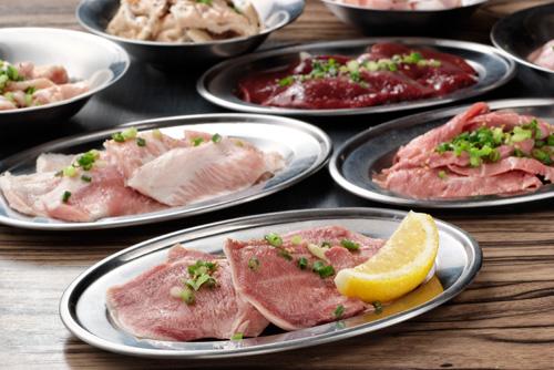 從大家所熟之的料理至稀有部位料理,種類都相當豐富