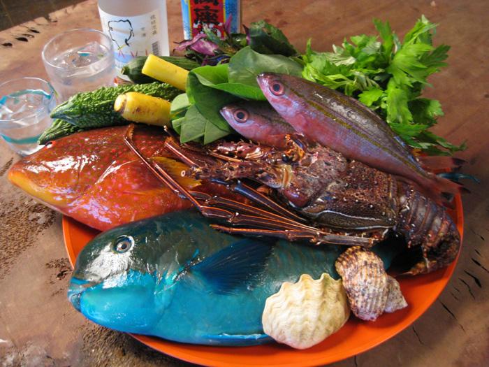 採用豐富的當地食材所製作的料理,等您來品嚐。