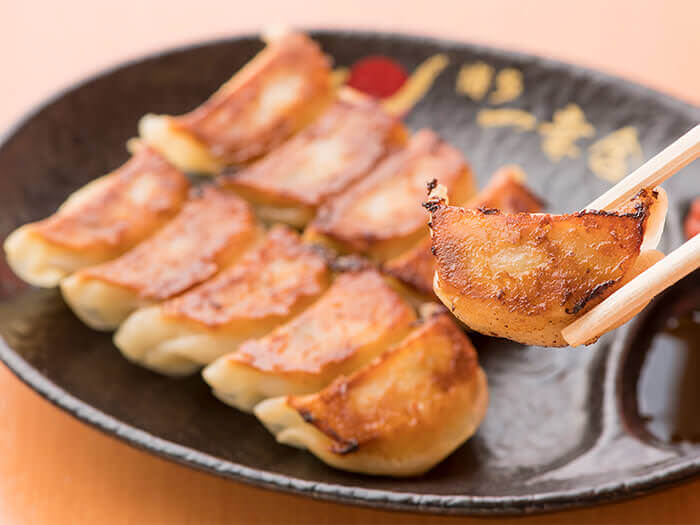 Ikkousha's signature bite-size gyoza dumplings. A treat that you can't find elsewhere!