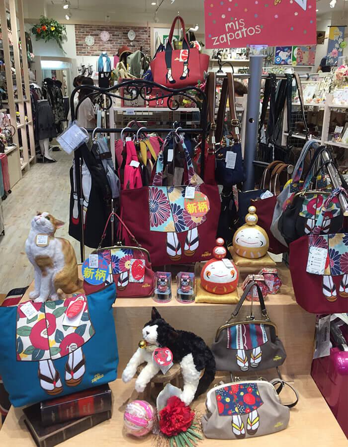 「Sogno Regalo」中匯聚眾多成熟可愛的日本製造雜貨
