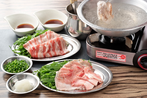 涮涮鍋豬肉是本店推薦的養生料理