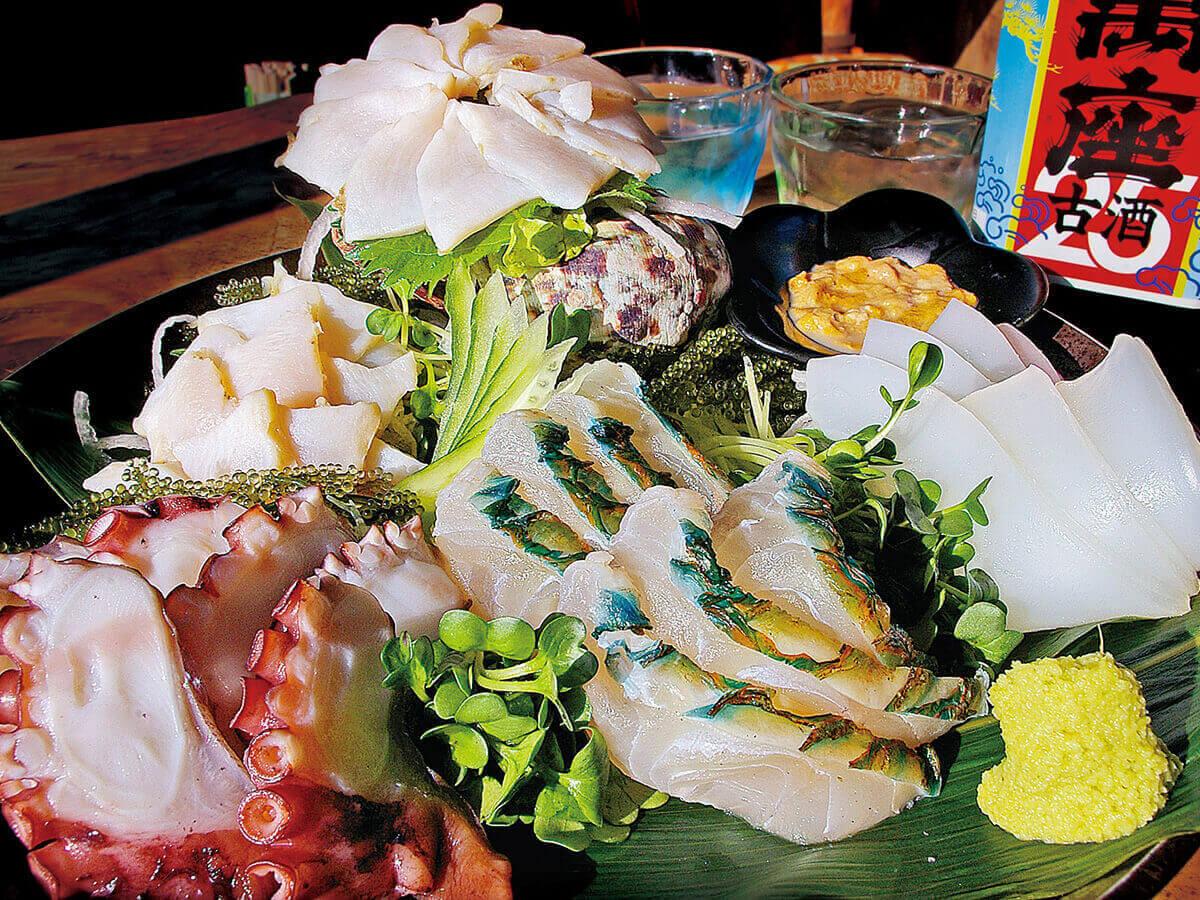 沖繩美食! 魚類VS肉類