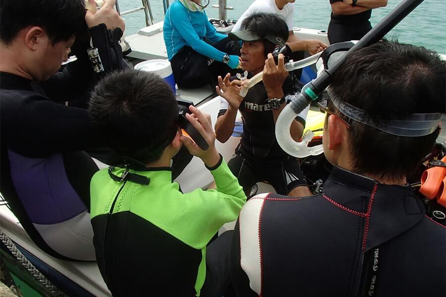 Snorkeling workshop