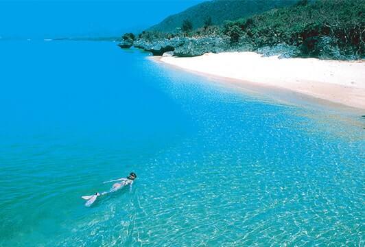 石垣島日落海灘