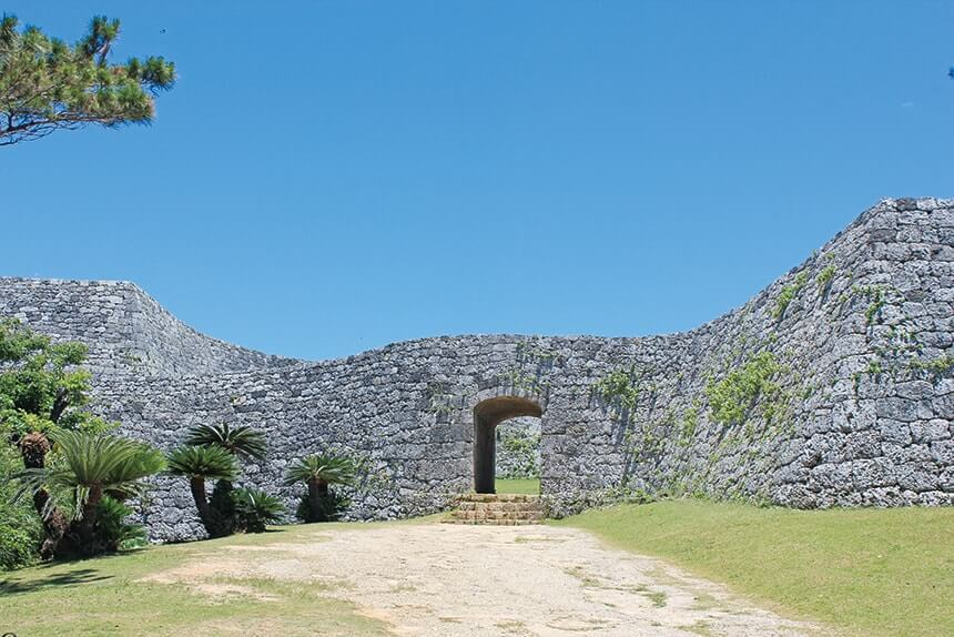 Zakimigusuku Castle