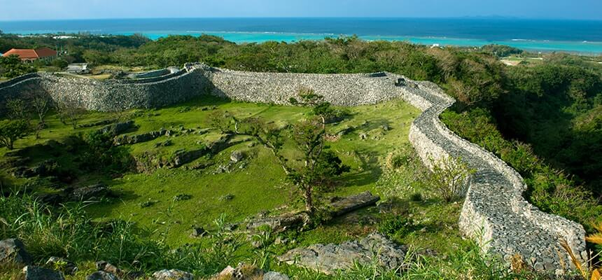 Everyone should visit at least once! The World Heritage Sites in Okinawa all feature exquisite views