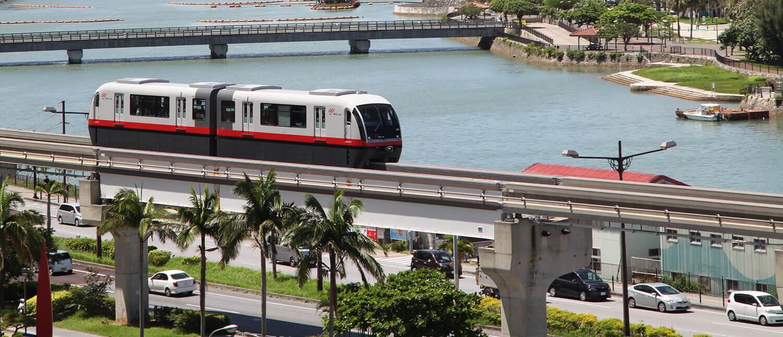 【特集】只當作交通工具就太浪費了!令人興奮不已的沖繩都市單軌電車「Yui-rail」旅遊