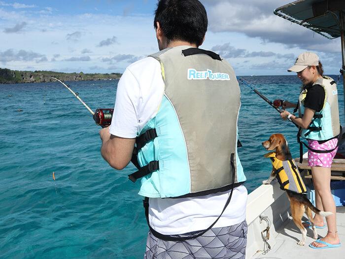 參加海釣行程所釣到的魚都可現場烹調