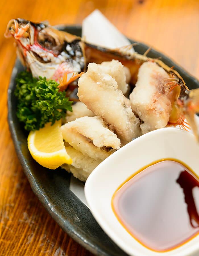 最受歡迎的酥炸沖繩縣魚烏尾冬仔