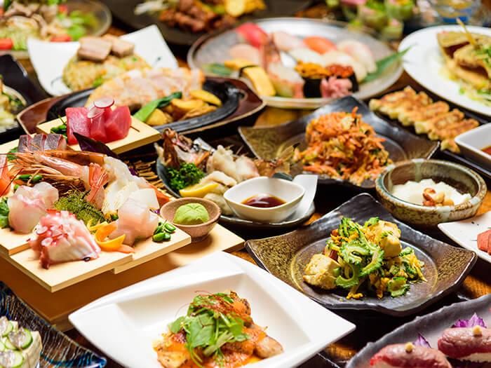 敬請享受沖繩料理。