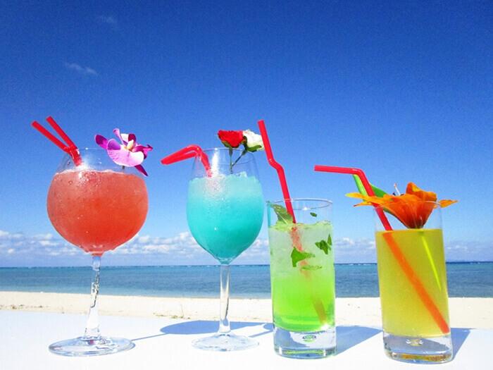 想拍美照的話千萬別錯過熱帶飲料!放在臉書或IG上一定超好評,而且不含酒精可輕鬆享用