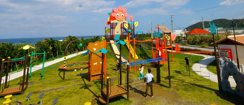 擁有大型溜滑梯或體能遊具的8座沖繩超好玩公園精選