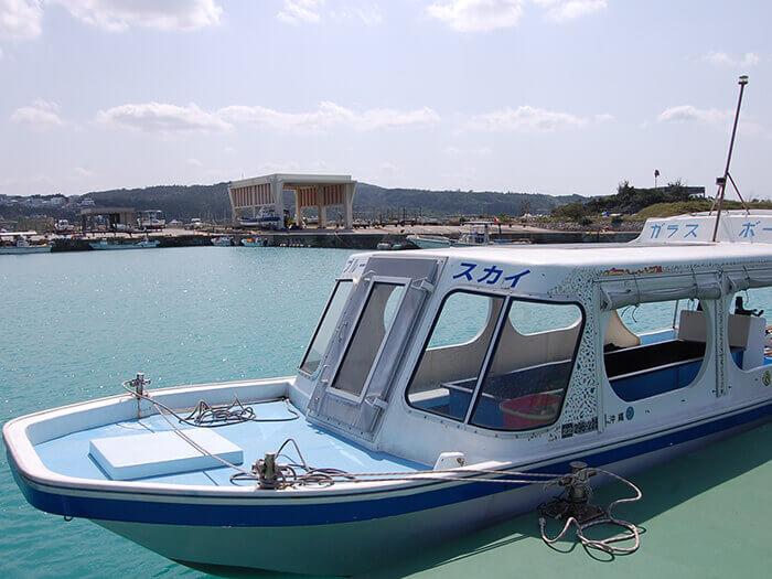 【玻璃底船(單選)】¥3500