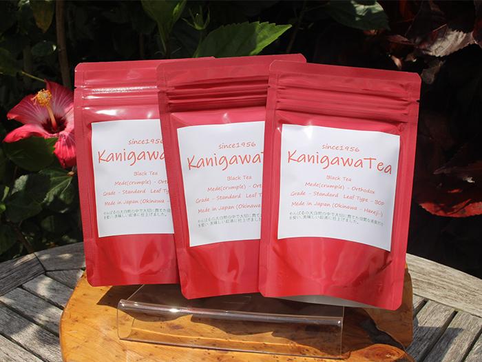 紅茶専用品種「べにふうき」を使用。旨みと渋みのバランスがよく、ミルクや砂糖を入れても失われない芳醇な香りは格別
