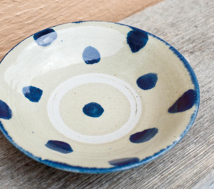 松田共司 作。とても使いやすい「8寸皿」