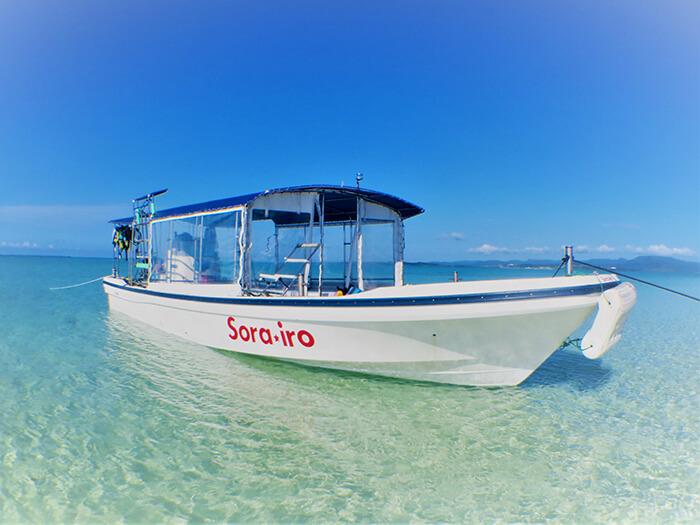 快適な乗り心地をとことん追求した専用ボート