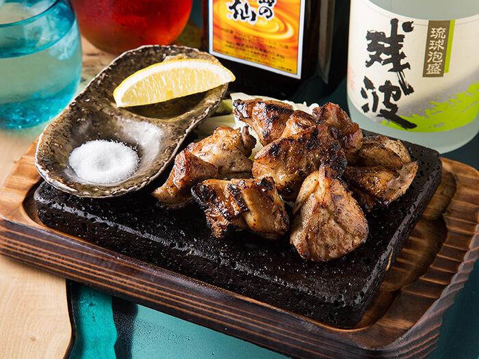 ヤンバル若鶏の炙り焼き