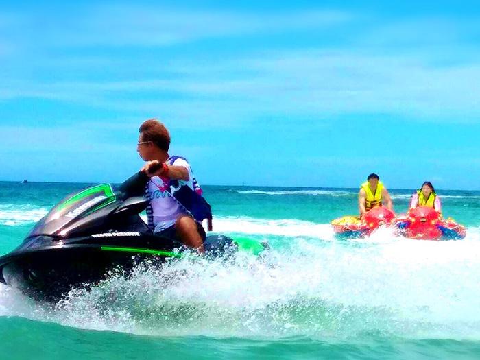 水納島 超お得パック  海水浴・シュノーケル・マリンスポーツすべてがセットになった丸一日遊べる完全プラン!