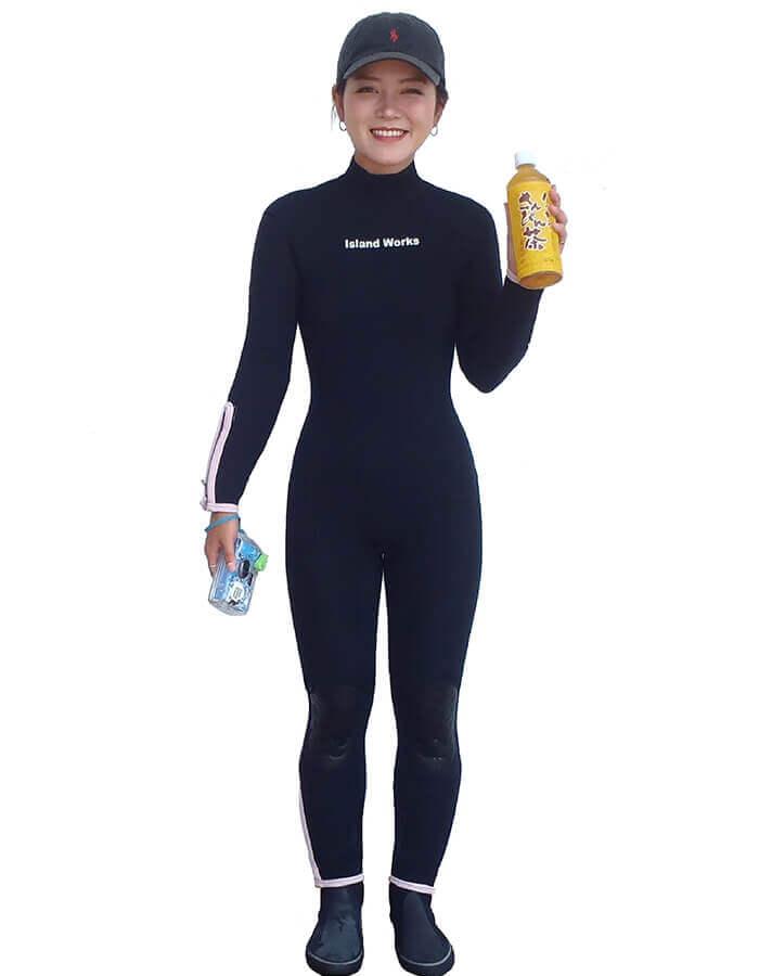 冬季はウェットスーツ、マリンブーツ、ライフジャケット無料貸出! ※水着・バスタオルはご持参ください