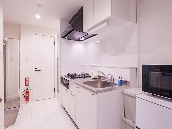 Annex別館所有房間都附廚房。