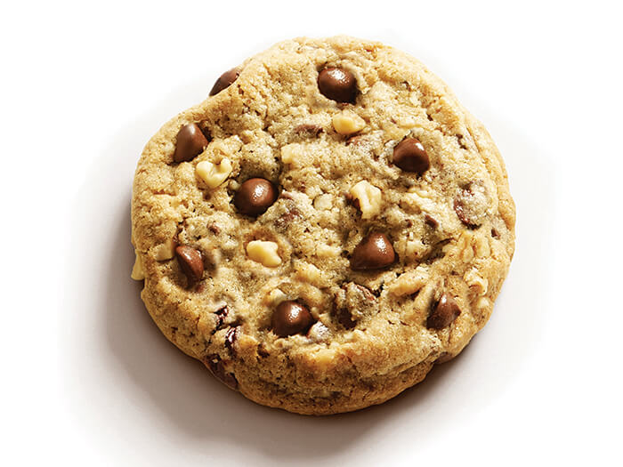世界中の同ブランドホテル全て共通のレシピで作られる、宿泊のお客様限定のチョコチップクッキー